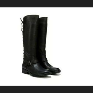NEW Euro Soft Selden Boots Black Leather Lace